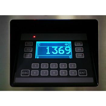 Zählmaschine TCF Inline - Display
