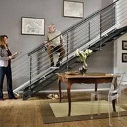 Treppenlift Horizon für gerade Treppen