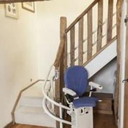Treppenlift Curve für Kurventreppen