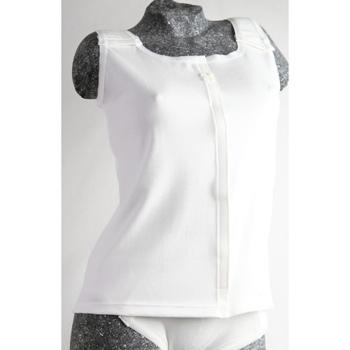 Damenunterhemd mit Klettverschluss