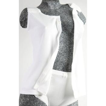 Damenunterhemd mit Klettverschluss, offen