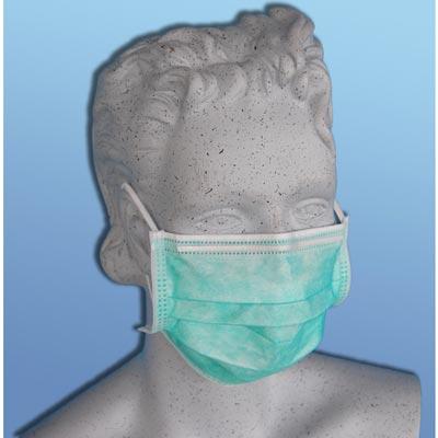 Gesichtsmaske mit Gummiband