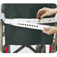 Magnetverschluss hinter Rückenlehne