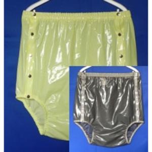 tc1433 - Knöpfer mit breitem Taillenbund, sehr hoch geschnitten