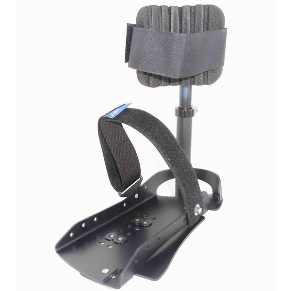 Ergo-Pedal mit Unterschenkelfixierung