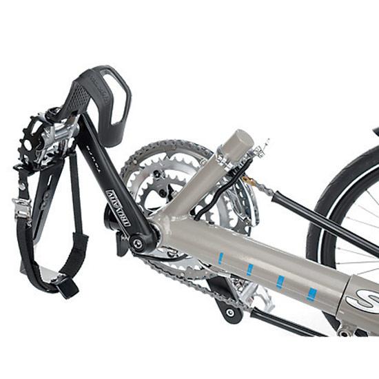 Pedal mit Fersen und Fußhaken