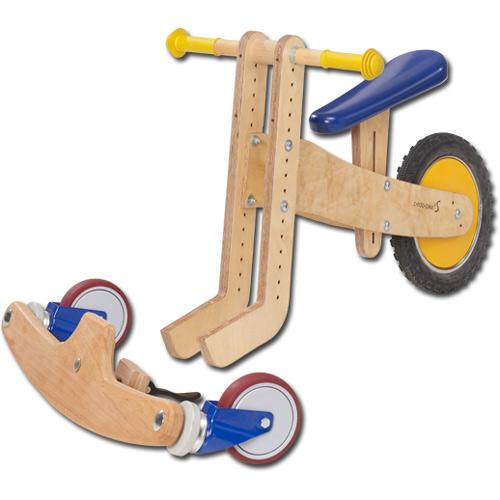 Lauf-3-Rad mit abnehmbarem Vorderteil