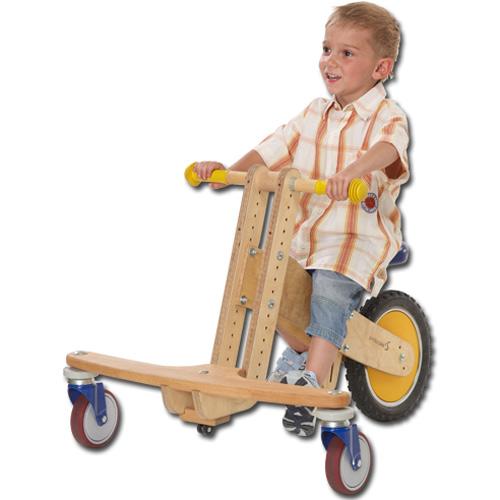 Lauf-3-Rad mit Kind