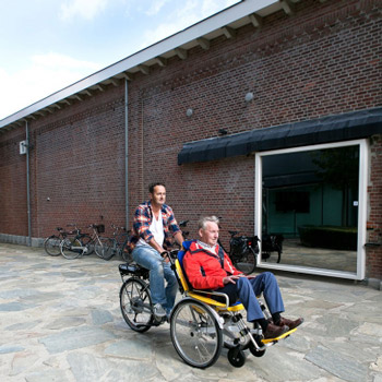 Fahrrad-Rollstuhl Rollfiets