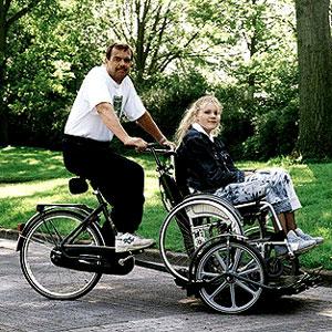 Fahrrad-Rollstuhl-Transporter Sunny Transporter
