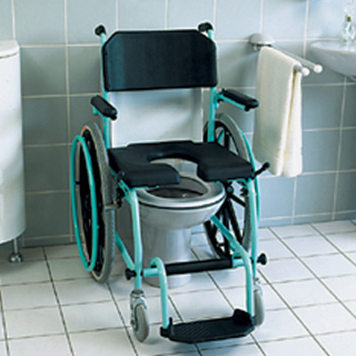 Delphin Dusch- und Toilettenrollstuhl
