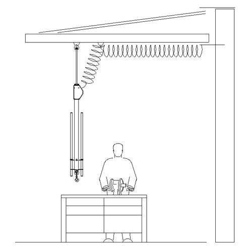 Schwebekran-Balancer - Anwendungsbeispiel