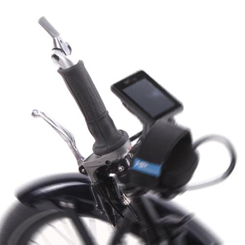Einhandbedienung für Schaltung und Bremse