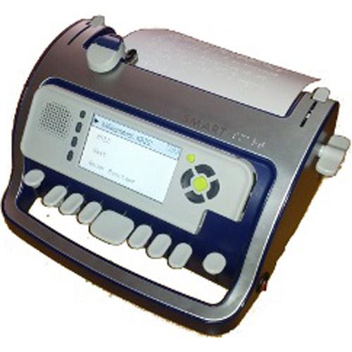 Punktschriftmaschine mit Sprachausgabe