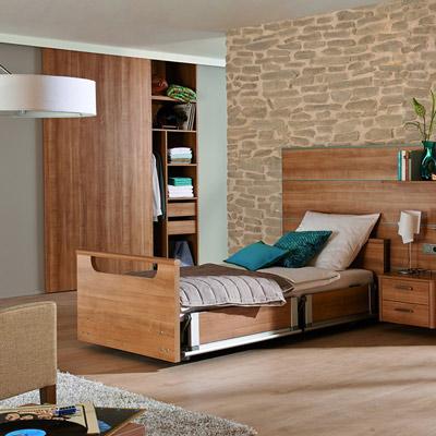 Multifunktions-Pflegebett quadero +