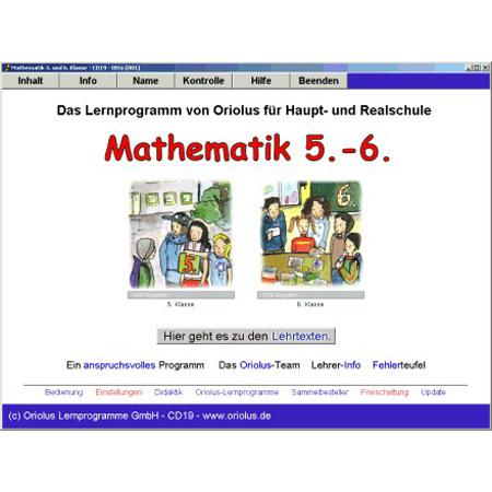 Oriolus Mathematik