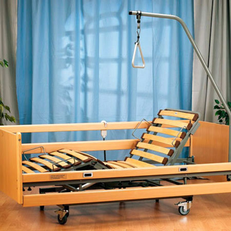 De Luxe Elektro Pflegebett