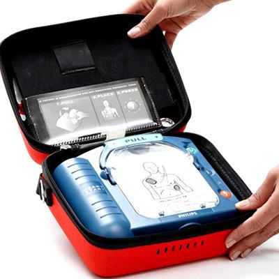 HeartStart HS1 Defibrillator im Koffer
