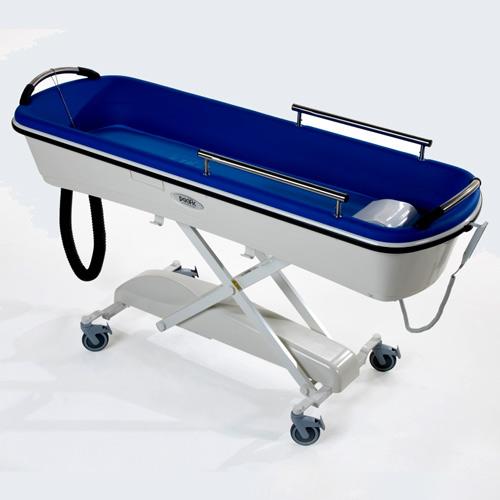 Dusch- und Badetrolley