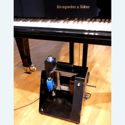 Rollstuhlfahrer-Klavier Elektromagnetische Steuerung