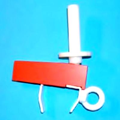 Tamponhilfe transportabel zur Befestigung an der Toilettenbrille
