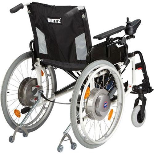 SwissDrive Rollstuhl-Zusatzantrieb