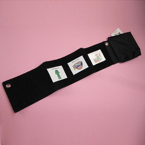 Klett-Ablaufplan mit Symboltasche, horizontal
