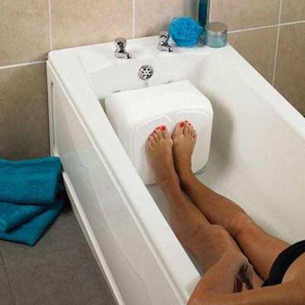 Badewannenverkürzer aus kunststoff