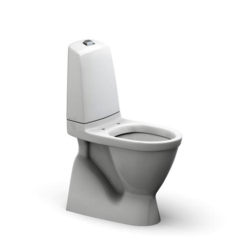 WC, bodenstehend, Abgang innen senkrecht, Sitzhöhe 460 mm