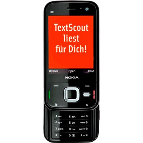 TextScout, Vorlesesoftware für Handys