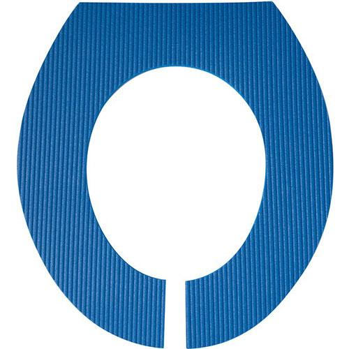 Toiletten-Auflage, Blau