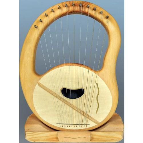 Mandala die Harfe/Leier