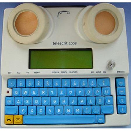 Schreibtelefon Telescrit 2008