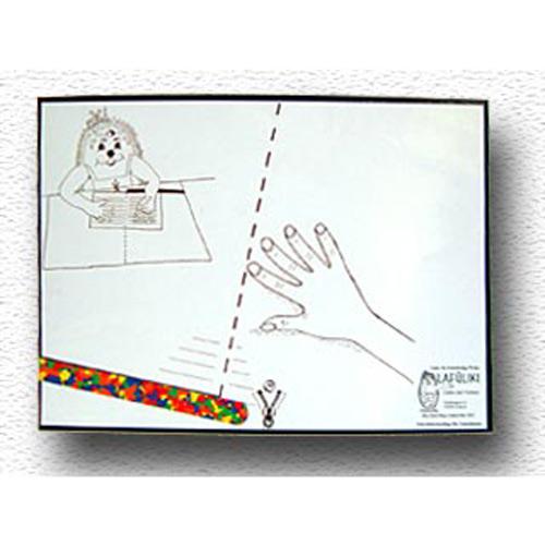 Foto Schreibunterlage eastin - linkshänder schreibunterlage für die schule - - manual
