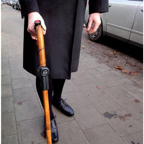 Schutzalarm für Rollator, Rollstuhl oder Gehstock