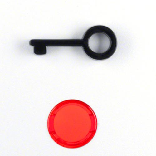 Wippe mit abtastbarem Symbol Tür