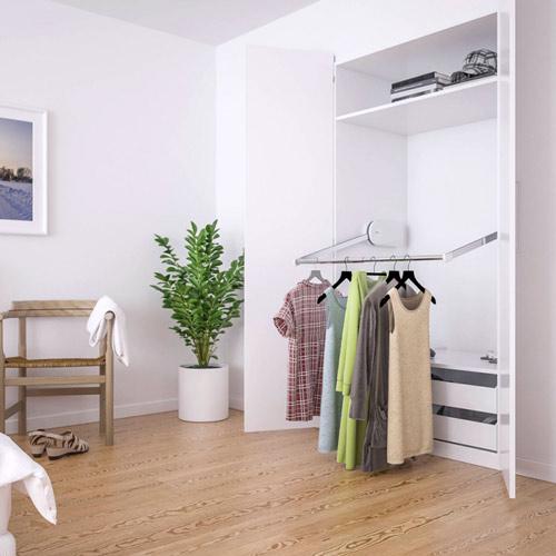 Elektrischer Kleiderlift - Anwendungsbeispiel