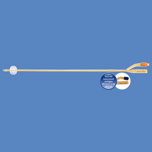 Urosid Latex Ballonkatheter, Typ Nelaton