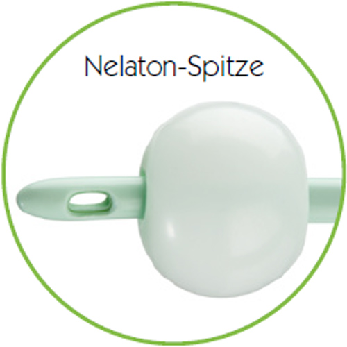 VisiSoft Ballonkatheter - Nelaton-Spitze