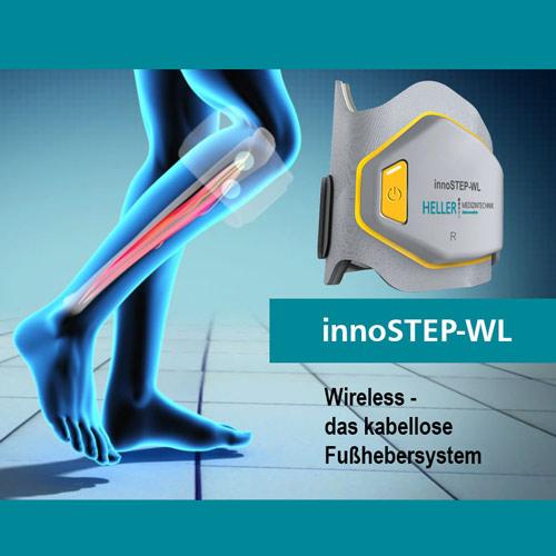 innoSTEP-WL - Beispiel für die Fußheberschwäche