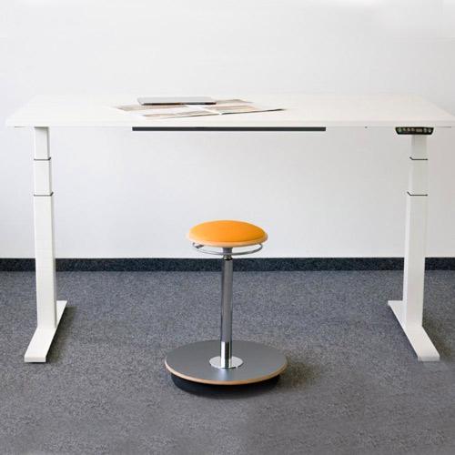 Höhenverstellbarer-Schreibtisch-eModel-Rechteck-Form-5