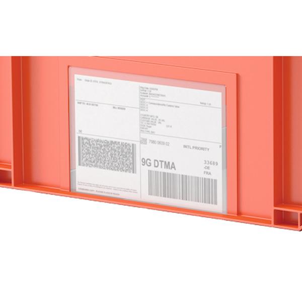 Klappbox EQ - Etikett