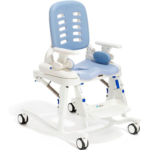 Rifton HTS Sitzeinheit mit fahrbarem Untergestell