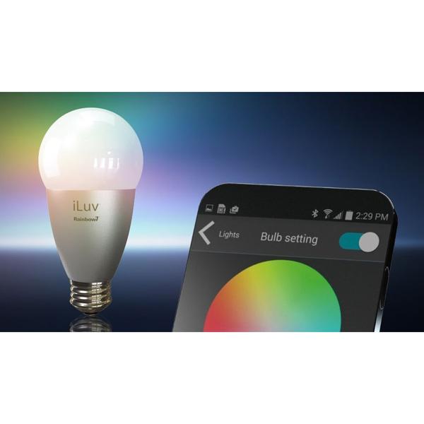 Rainbow7 Bluetooth LED Lampe 2