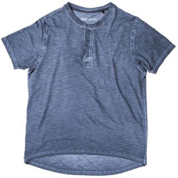Henley Shirt Marine 30029