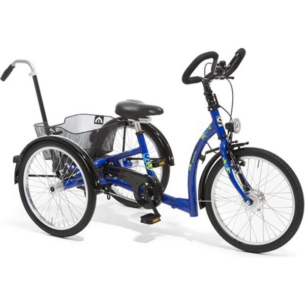 MOMO Dreirad mit Schiebestange