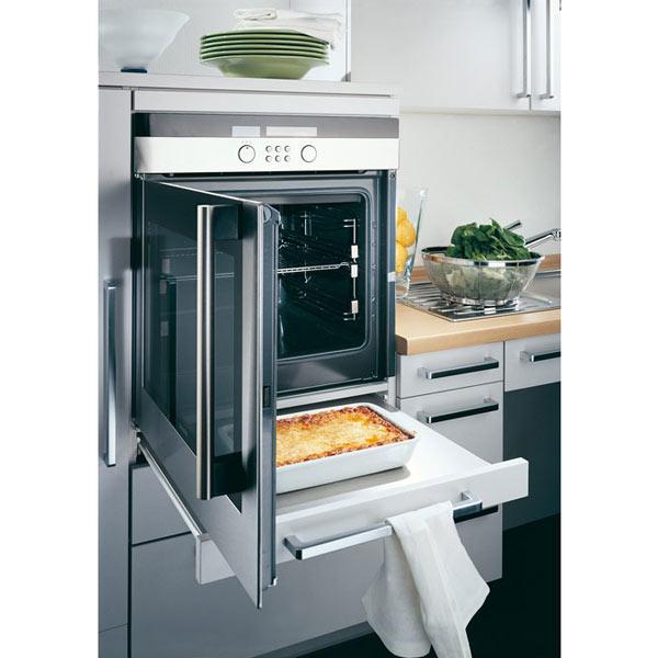 ergonomisch integrierte Küchengeräte