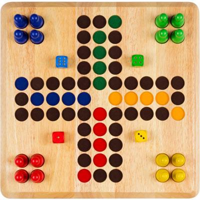 Brettspiel Weible Ludo XL