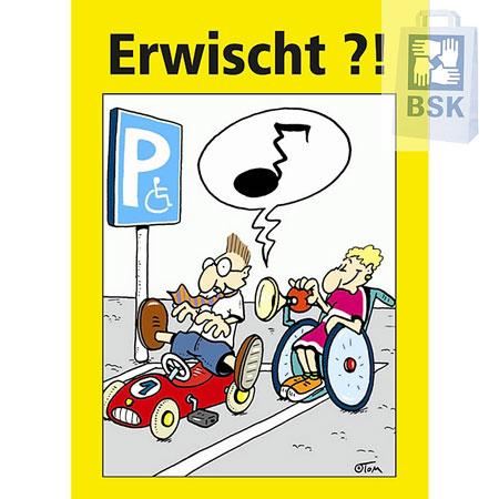Hinweiskarten für Falschparker