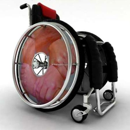 Rollstuhl Speichenschutz A-001